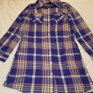 Girls Shirt Dress